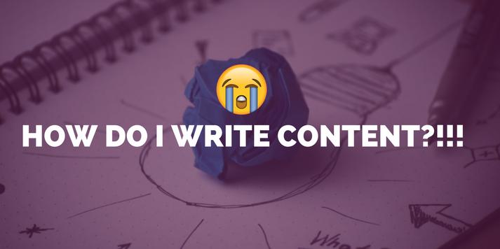 :'( how do I write content?