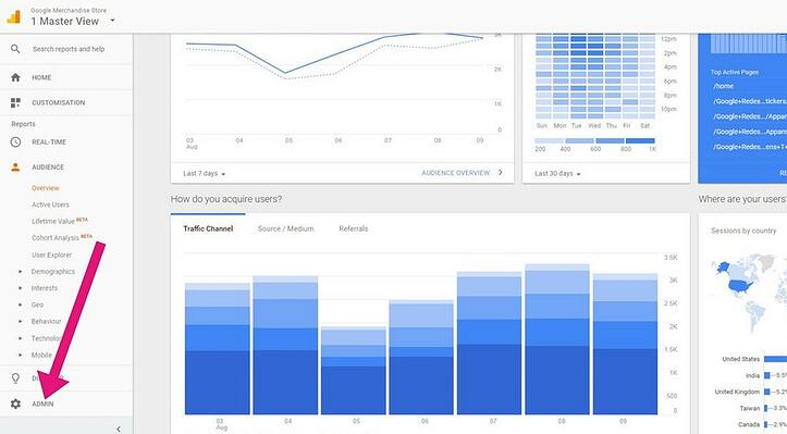 Linking Adwords and Analytics. Step 2