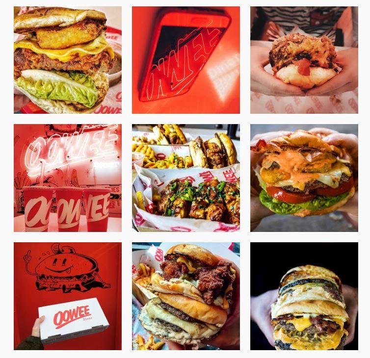 Oowee Diner Instagram