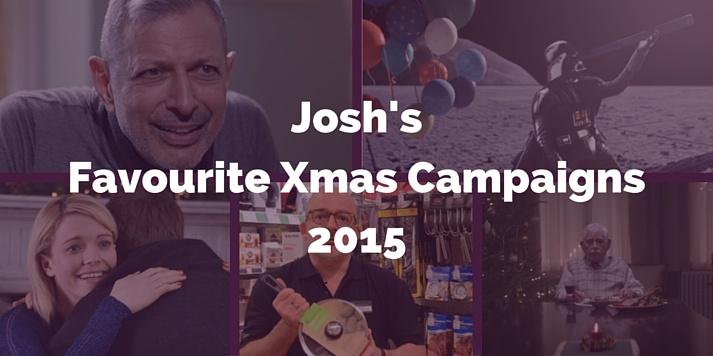 josh favourite christmas online marketing campaigns