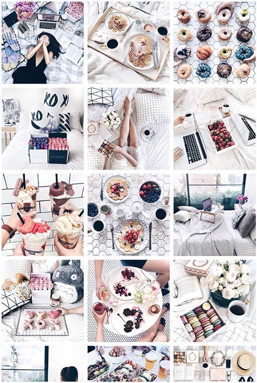 Example Instagram Aesthetic