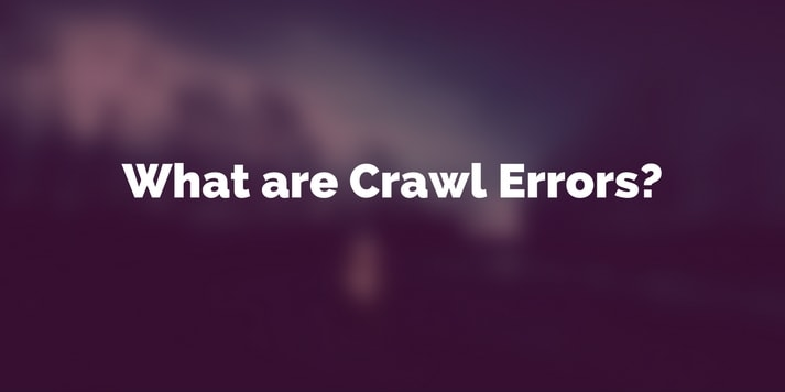 What are Crawl Errors featured image