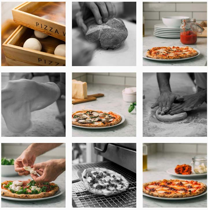 pizza workshop instagram feed
