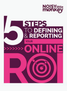 Front cover image of 5 Steps To Defining Your Online ROI