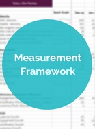 Front cover image of Developing Your Measurement Framework