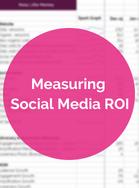 Social Measures ROI ebook