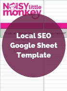 Local SEO Google Sheet Thumbnail