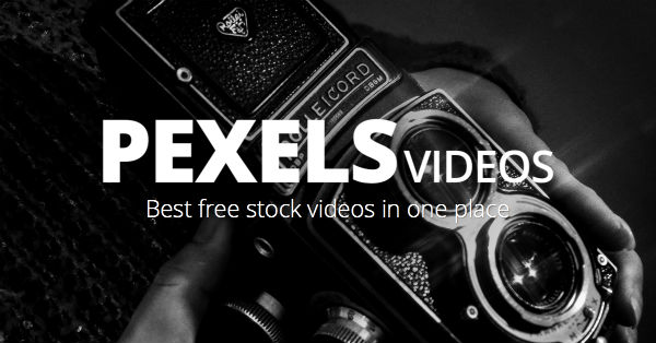 Pexels, free stock video site