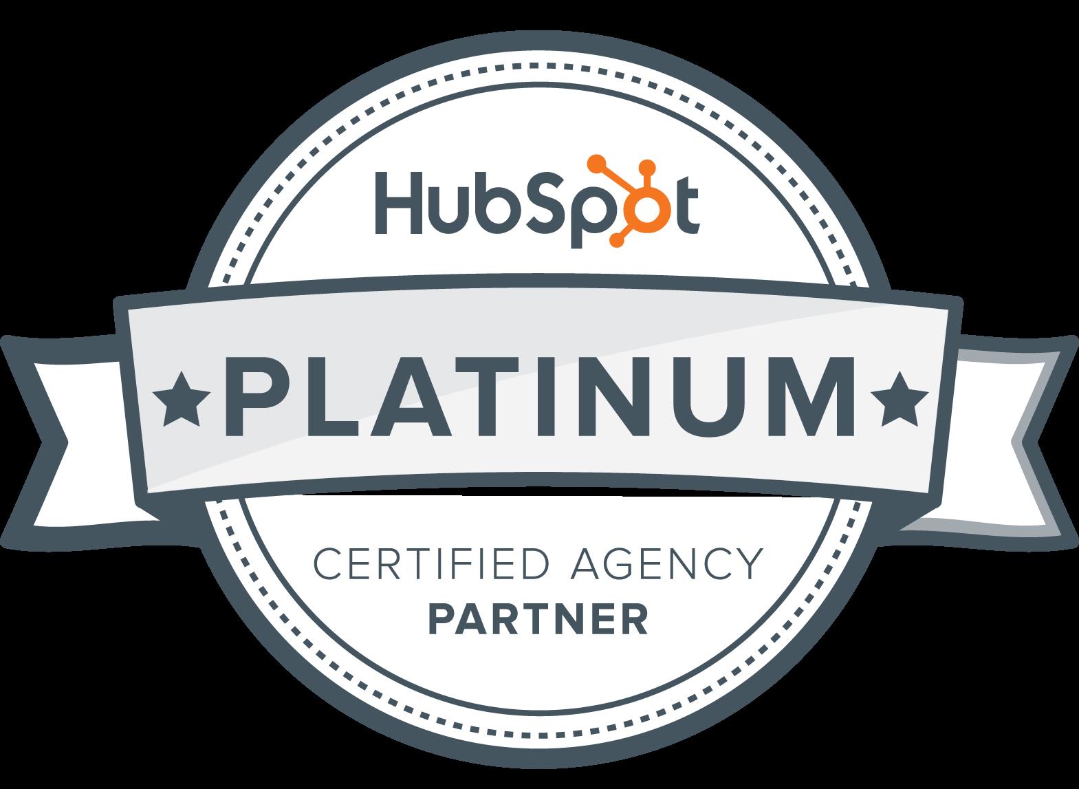 noisy little monkey are a Platinum Hubspot Partner