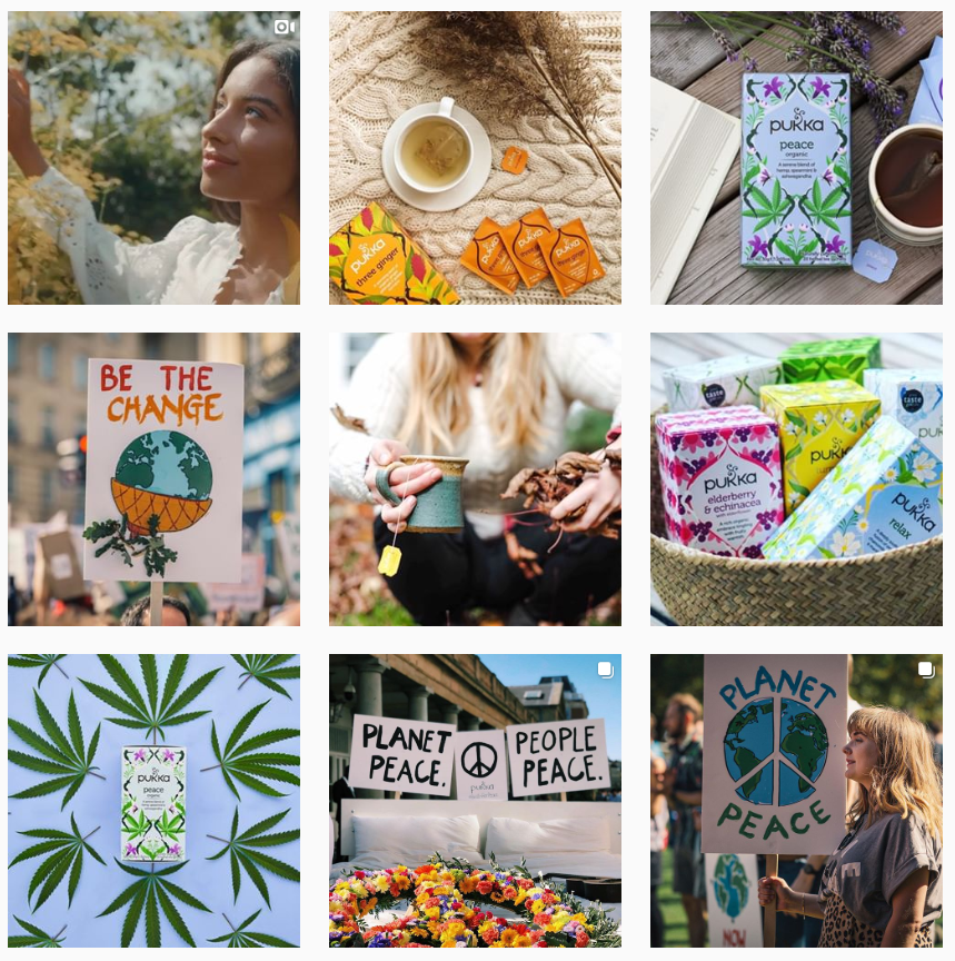 Pukka Herbs Instagram feed