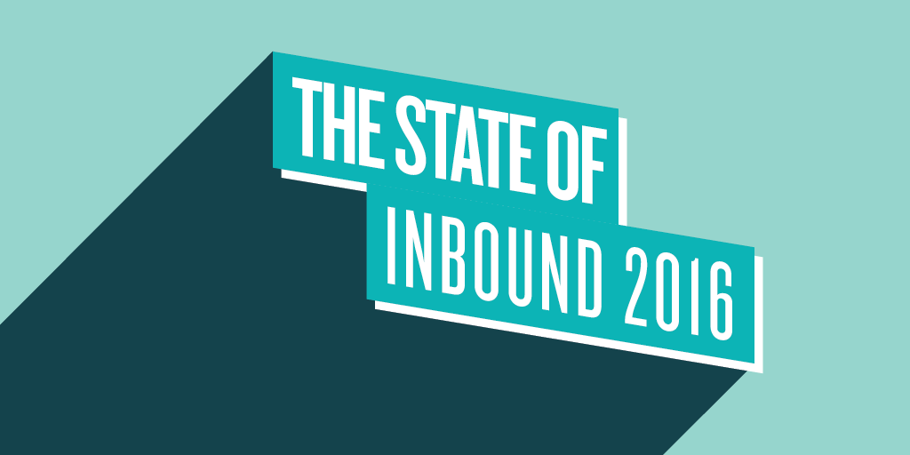State Of Inbound Report 2016