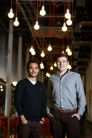 Saf Nazeer and Simon Hills, the Founders of Helpfulpeeps