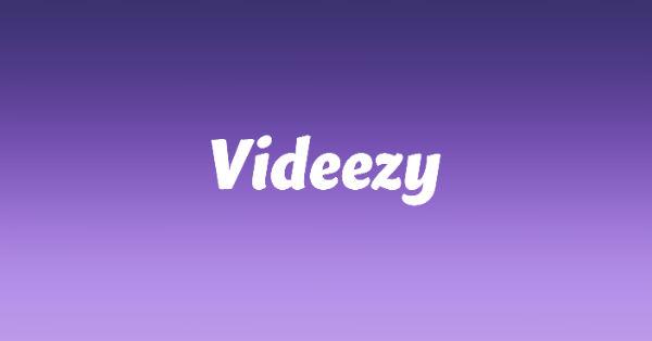 Videezy, free stock video site