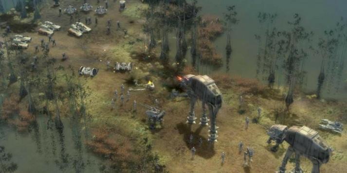 Screenshot of Empire At War game