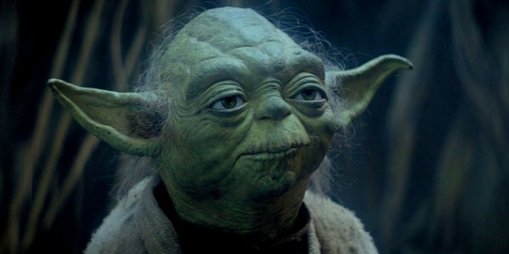 Picture of Yoda from Star Wars