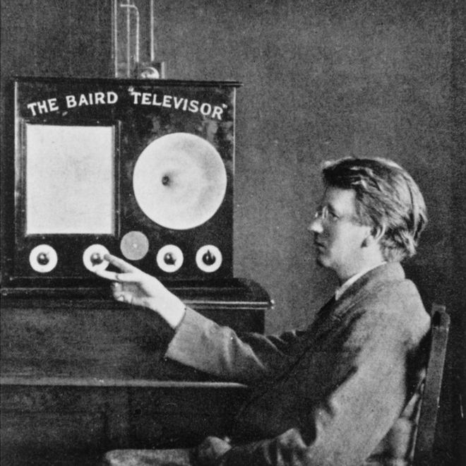 The first ever version of a television