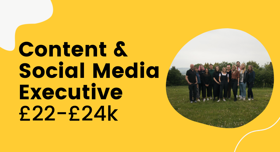 [CLOSED] Content And Social Media Executive Featured Image