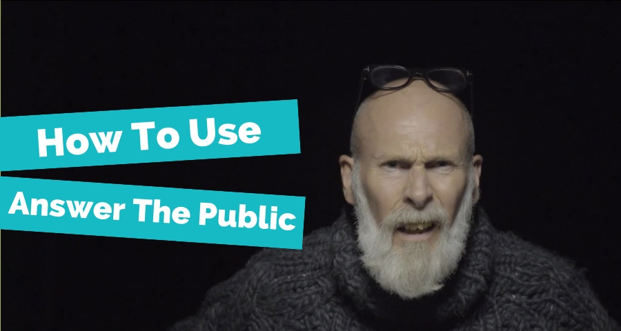 5 Easy Steps To Use Answer The Public To Optimise Your Content Featured Image