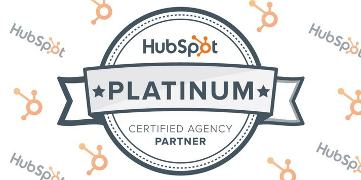 We're A Platinum HubSpot Agency Partner!
