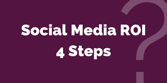 Social Media Marketing - Measure ROI in just 4 simple steps