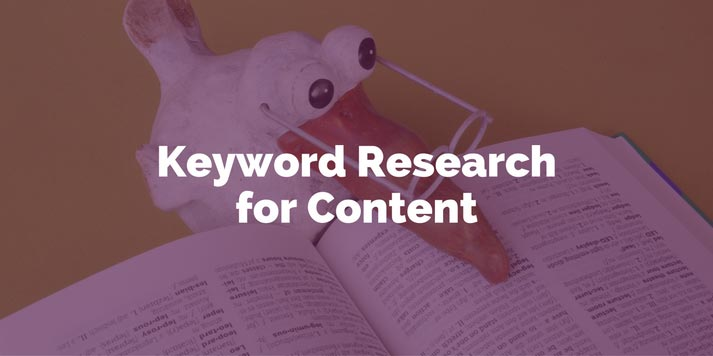 How To Do Keyword Research For Content