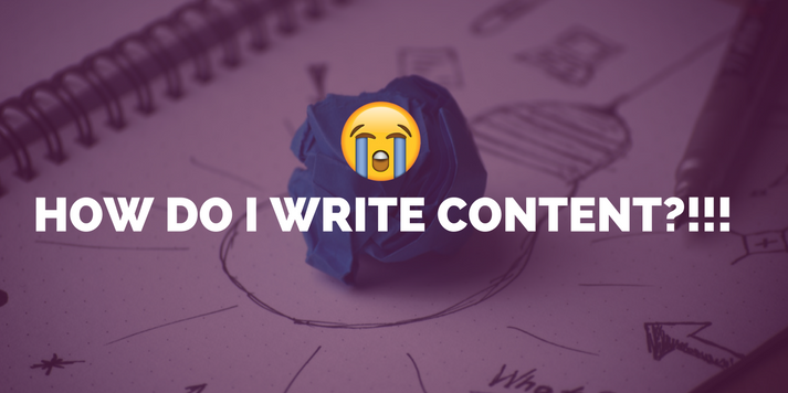 Help! Writing Content Makes Me :'( - What Do I Do?!