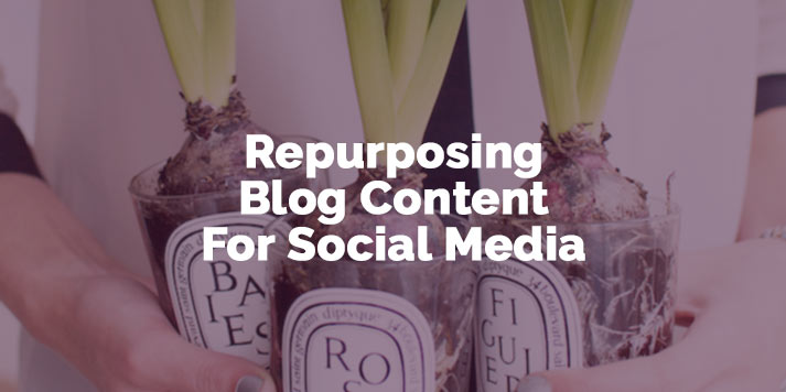 How To Repurpose Blog Content For Social Media