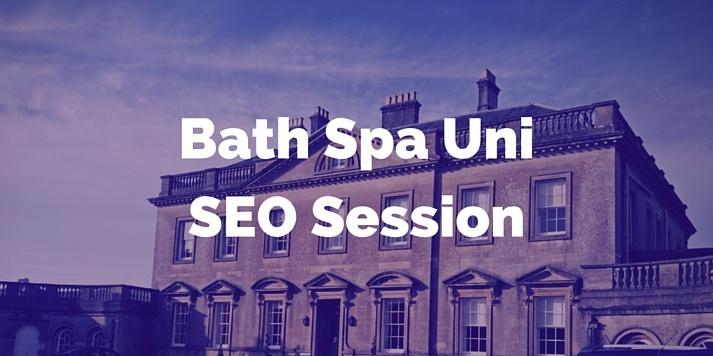 Slides & Tools from Jon's SEO Talk at Bath Spa