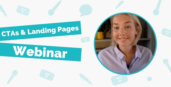 CTAs and Landing Pages Webinar