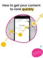 How to get your content to rank quickly Image