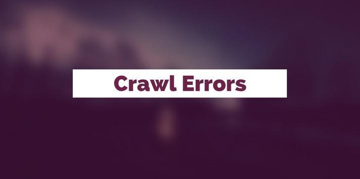 Crawl Errors