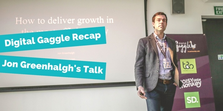 Digital Gaggle Recap - Jon Greenhalgh's Talk