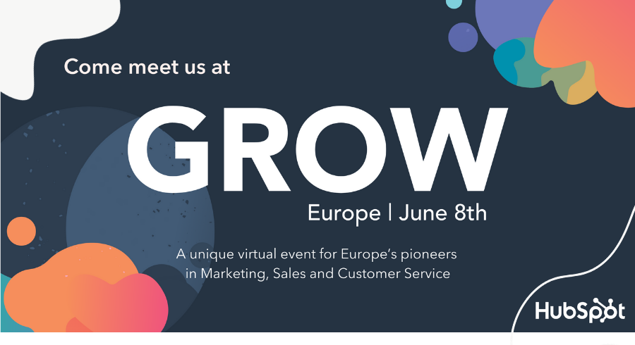 Come meet us at GROW Europe!