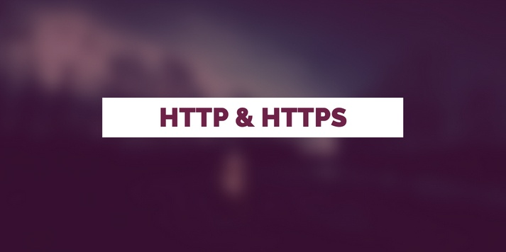 What is http and https