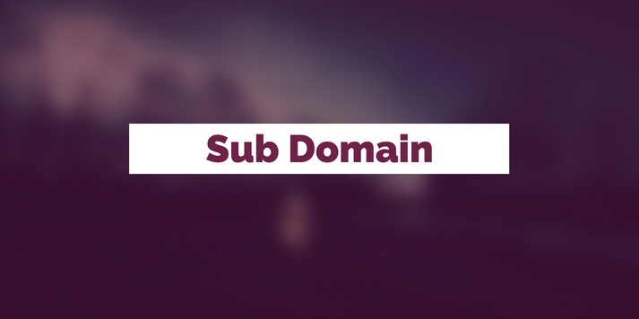 What Is A Sub Domain?