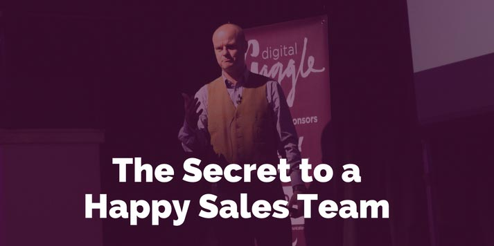 The Secret to a Happy Sales Team? Inbound Marketing!